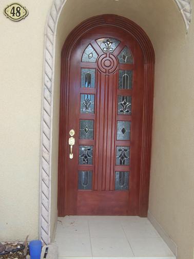 Puertas de madera en torre n puertas de madera en la for Puertas principales de vidrio